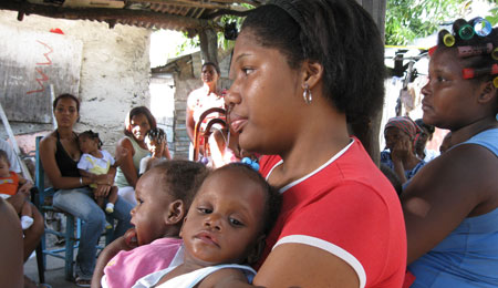 Poor Mothers in Dominican Republic